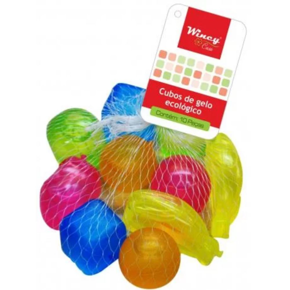 Gelo Plástico De Frutas 10 Peças Wincy