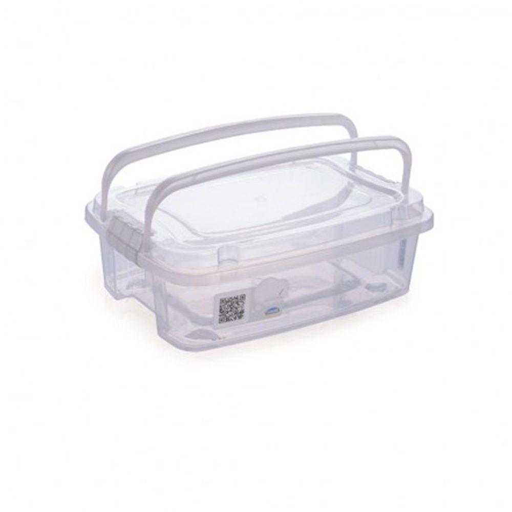 Gran Box Baixa C/Alca 1,5lt Transp Plasutil