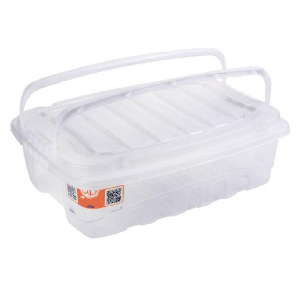 Gran Box Baixa C/Alca 3,12lt Transp Plasutil