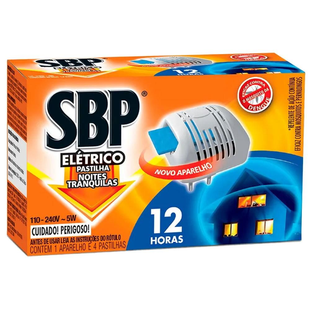 Inseticida Sbp Eletrico 12H Ap
