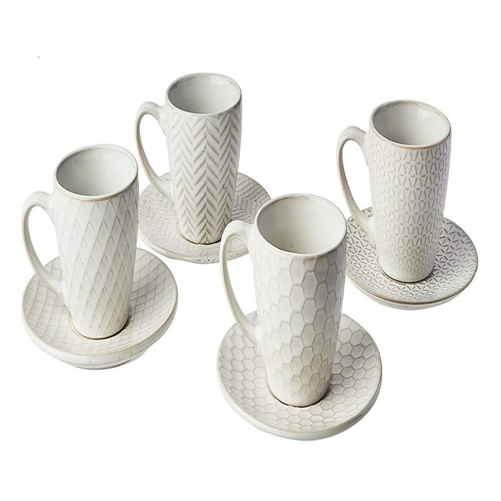 Jogo De Cafe Ceramica Claro Mezcla Mimo Style