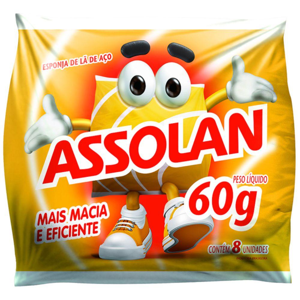 La De Aco Assolan 60gr Pc C/8 Unidades