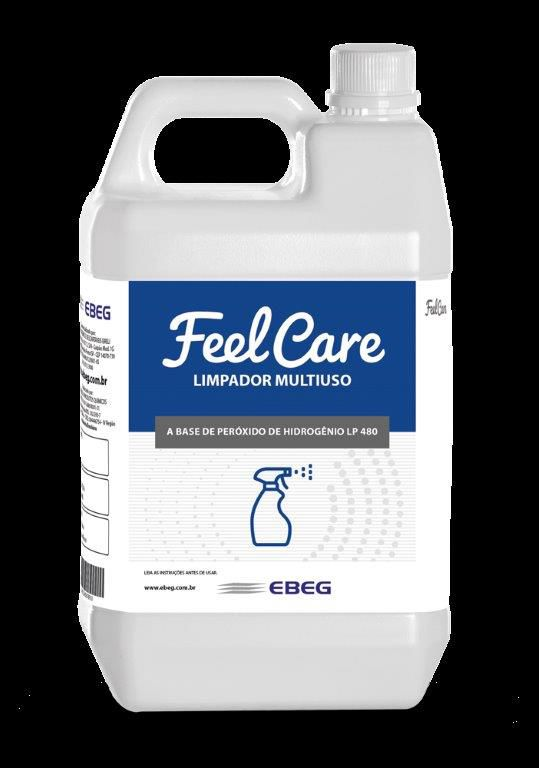 Limpador Multiuso Peróxido Feelcare Lp 480 5L