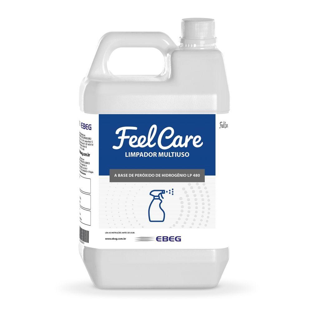 Limpador Multiuso Peróxido Feelcare Lp 480 5lt
