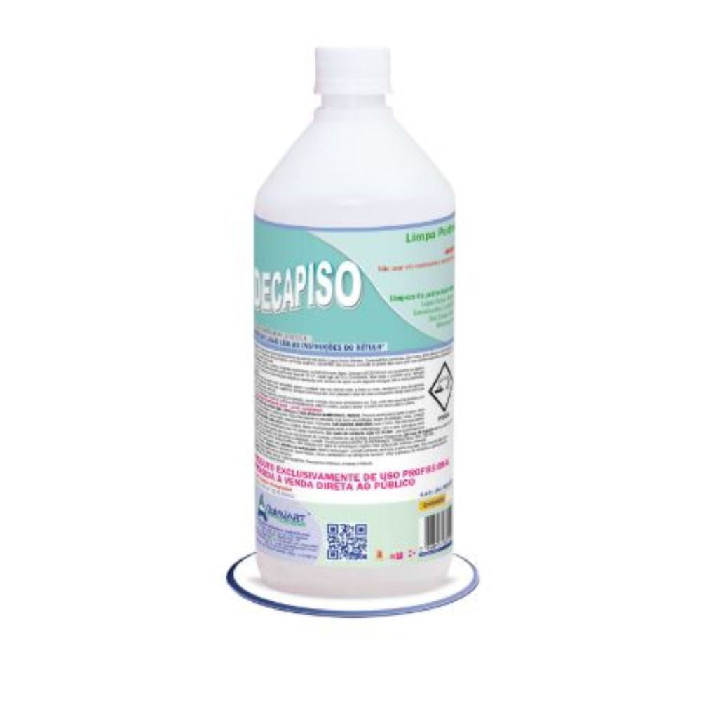 Limpador Piso/Shampoo P/ Pedra 1lt Decapiso P.Obra