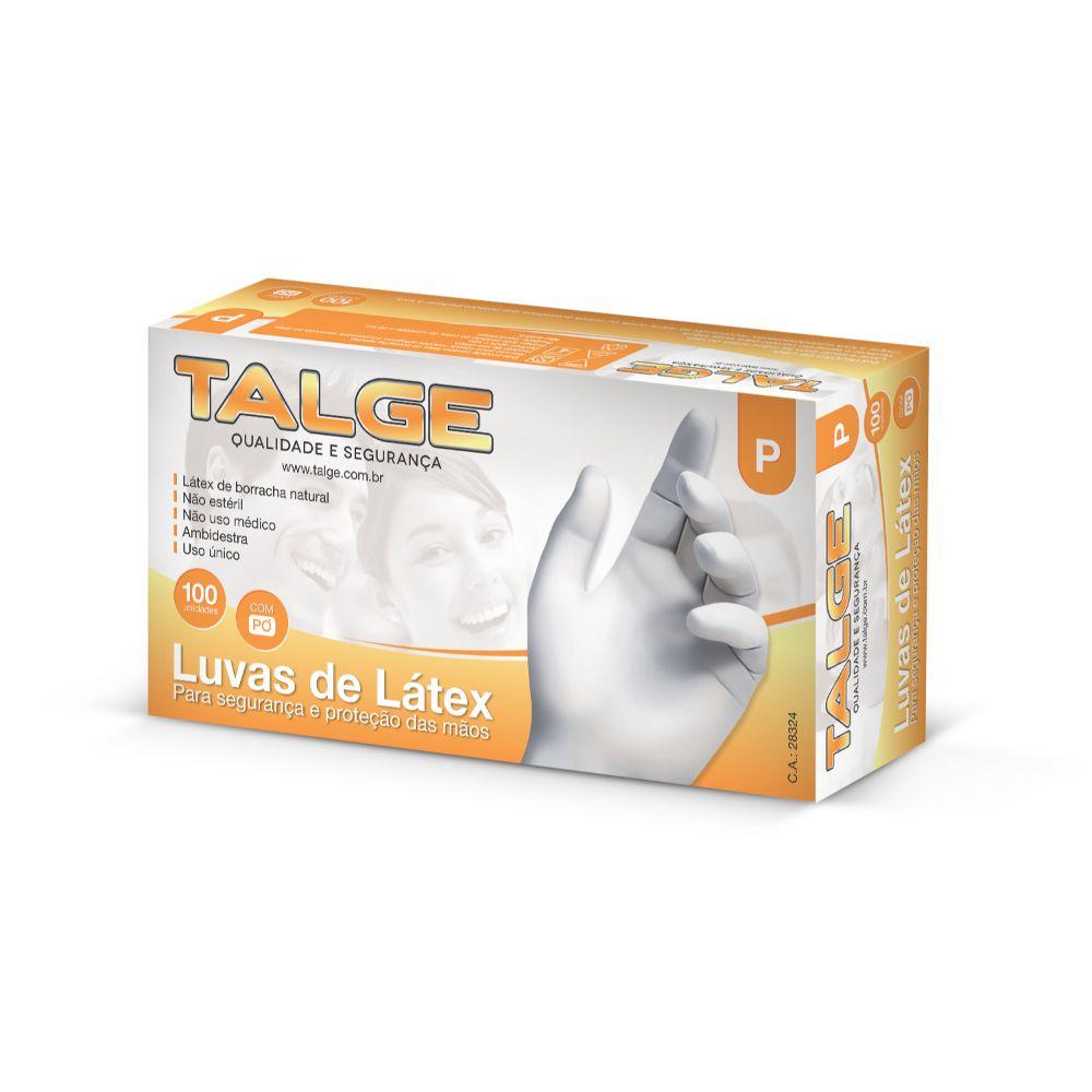 Luva Latex Talge Pequena C/100