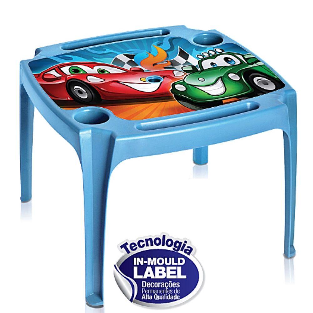 Mesa Infantil Azul Label Arqplast