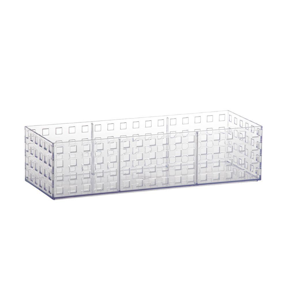 Organizador Empilhavel 32X11,5X8Cm Quadratta