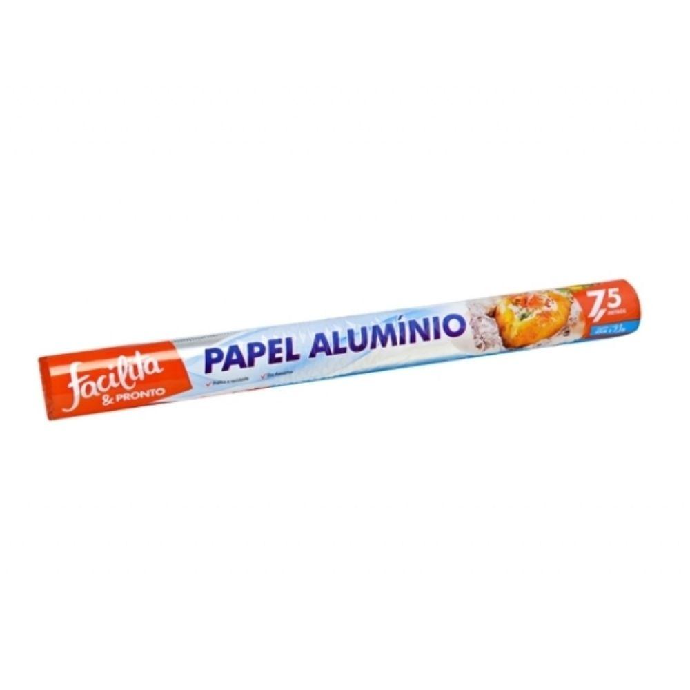 Papel Aluminio Facilita & Pronto 45 Cm X 7,5mts