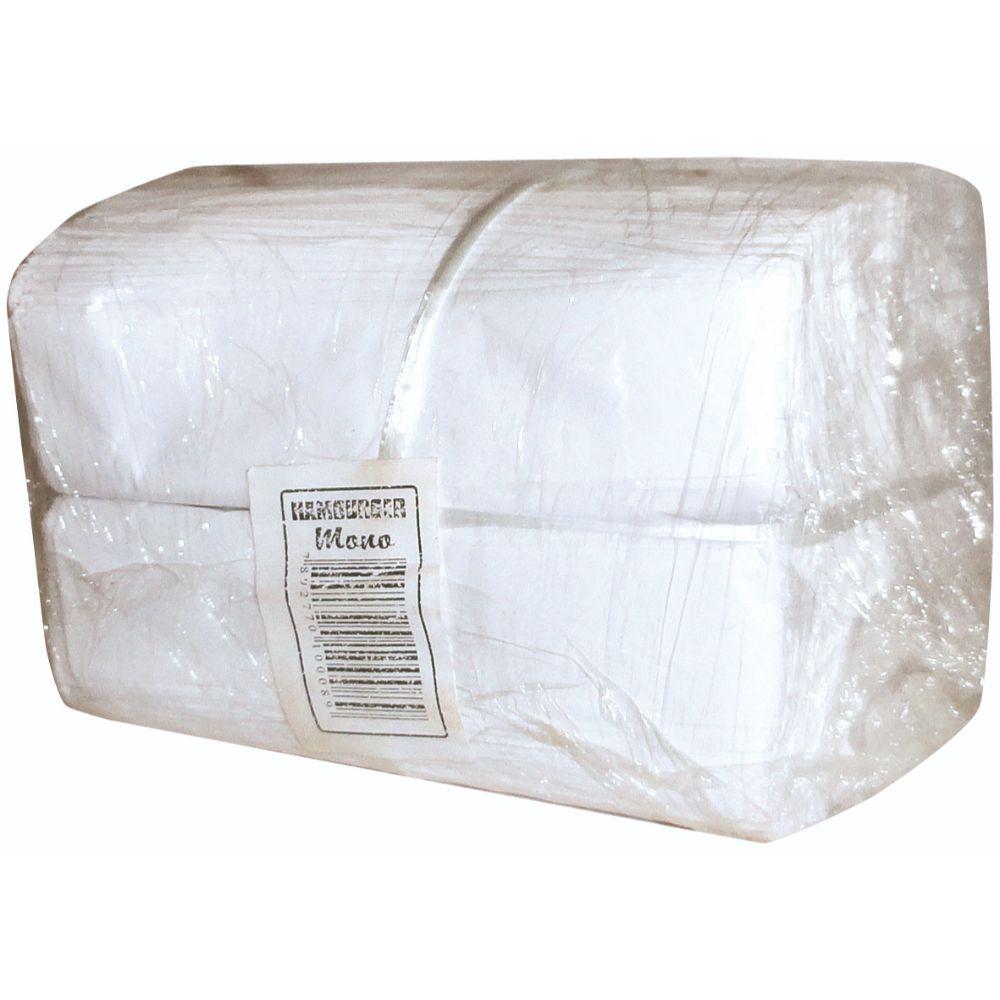 Papel Branco (Hamburguer) 14x10cm Liso C/500
