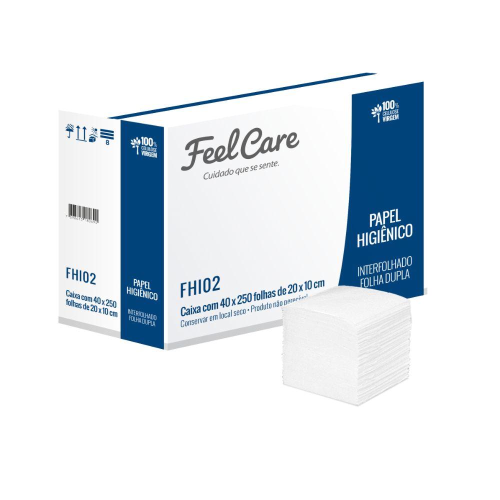 Papel Hig. Feelcare Inter. Fd Fhi02 C/10.000 Folhas