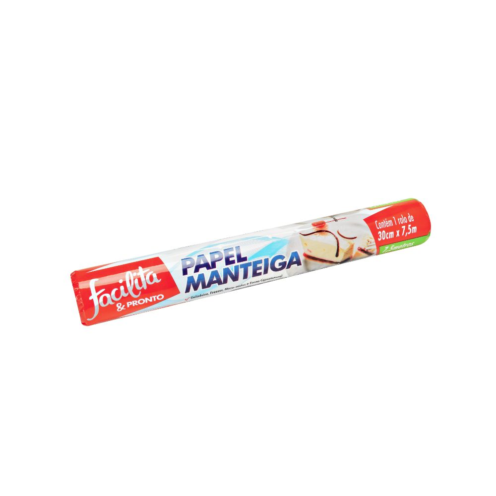 Papel Manteiga Facilita & Pronto 30x7,5mts C/12