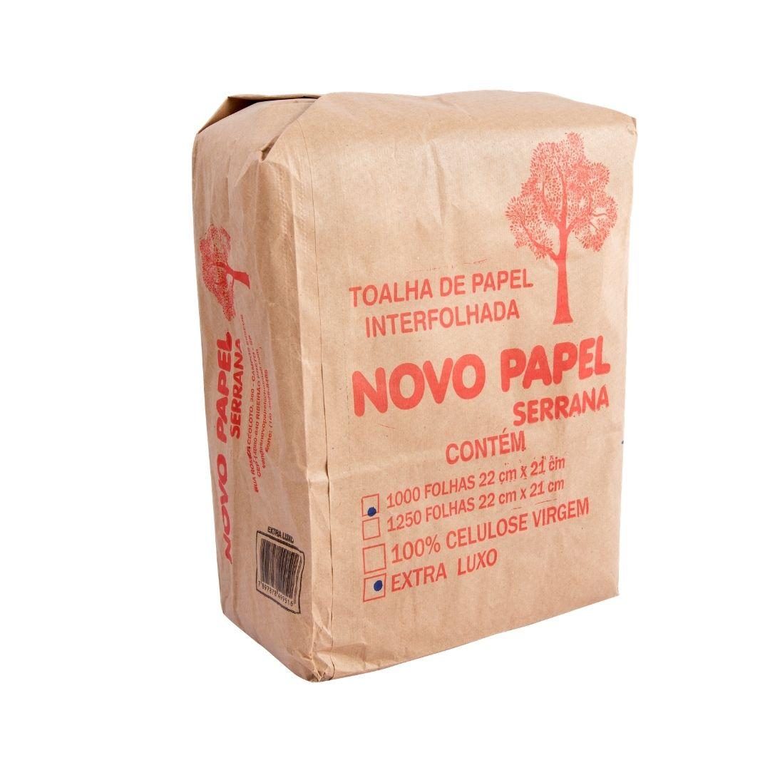 Papel Toalha Inter. 22,5x21 Extra C/1000 Novo