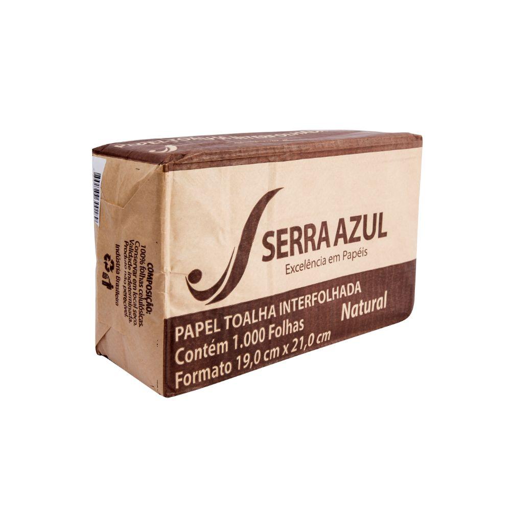 Papel Toalha Inter Natural 19x21 C/1000 Serra