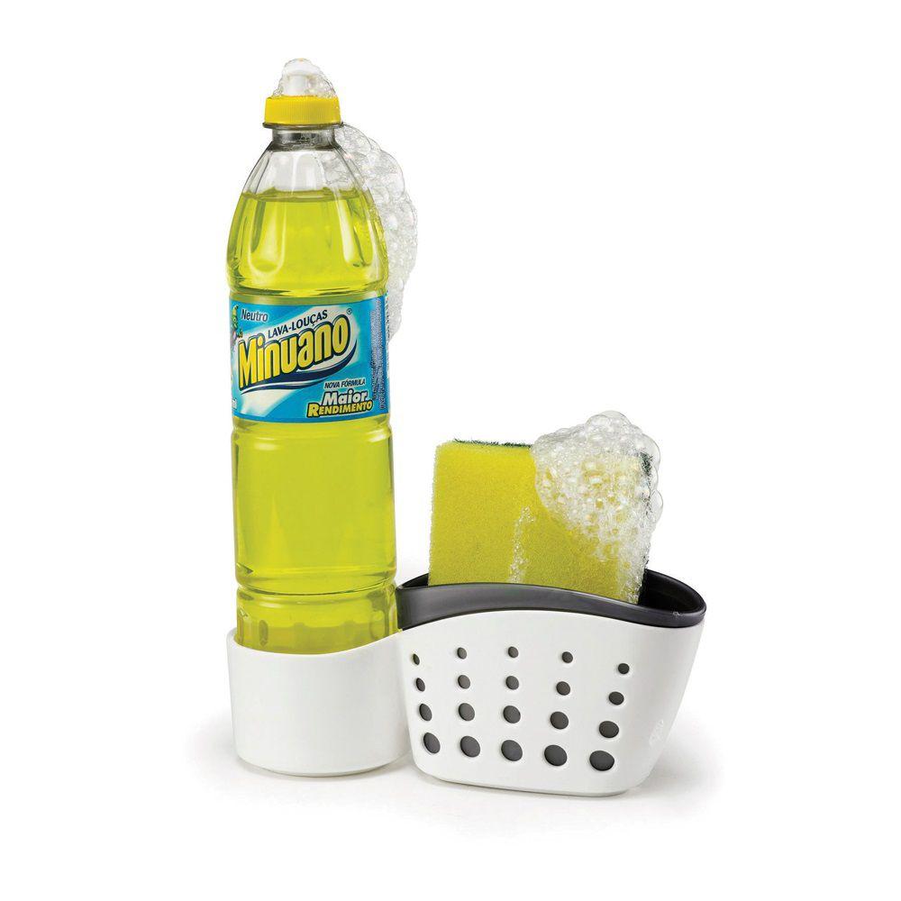 Porta Detergente E Bucha Double Arthi