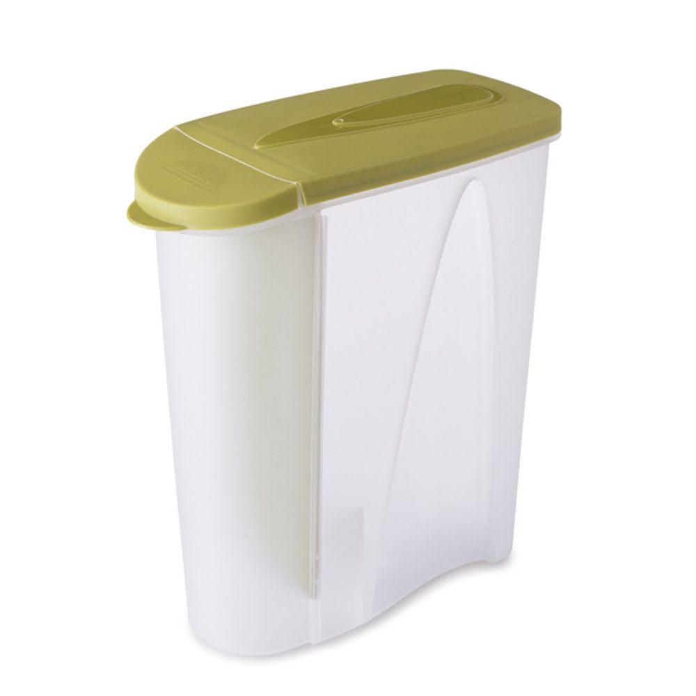 Porta Sabão Em Pó C|Dosador 1Kg Verde Plasutil