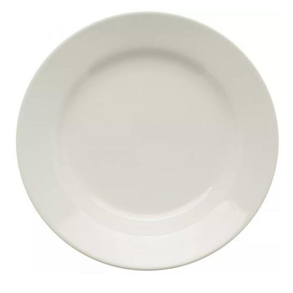 Prato Raso Oxford 26Cm Plus Branco