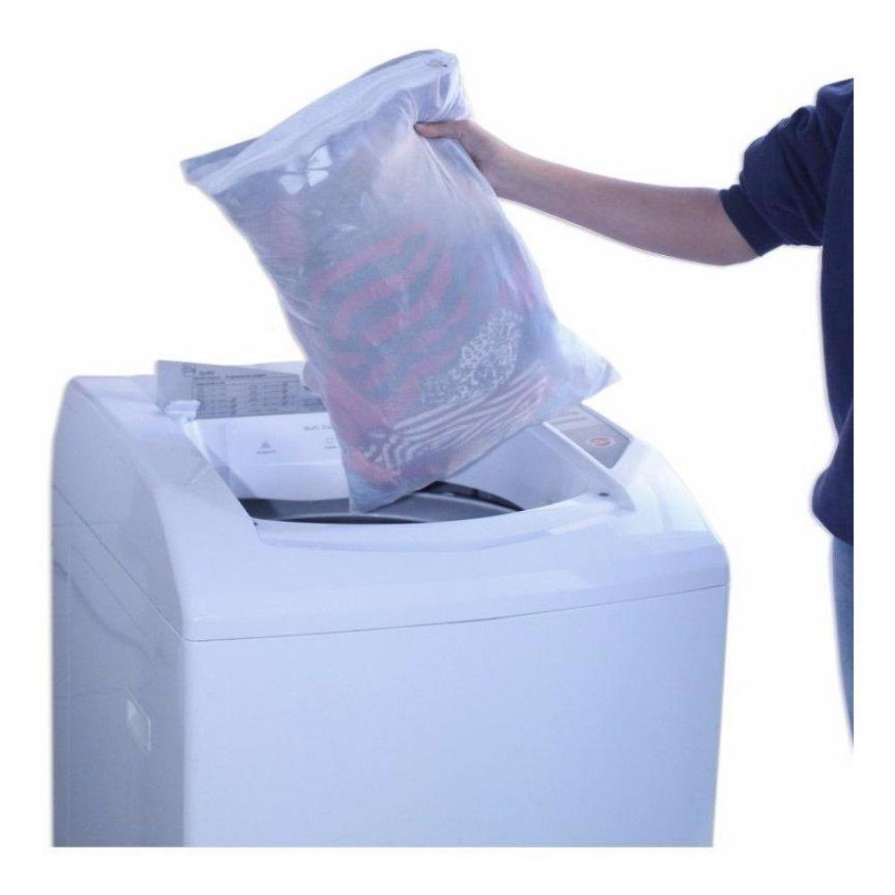 Protetor Para Lavar Roupas Gg 70Cmx50Cm