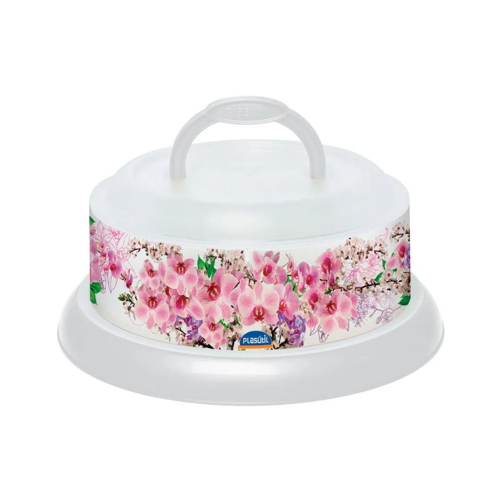 Queijeira Decora Rosca - Floral