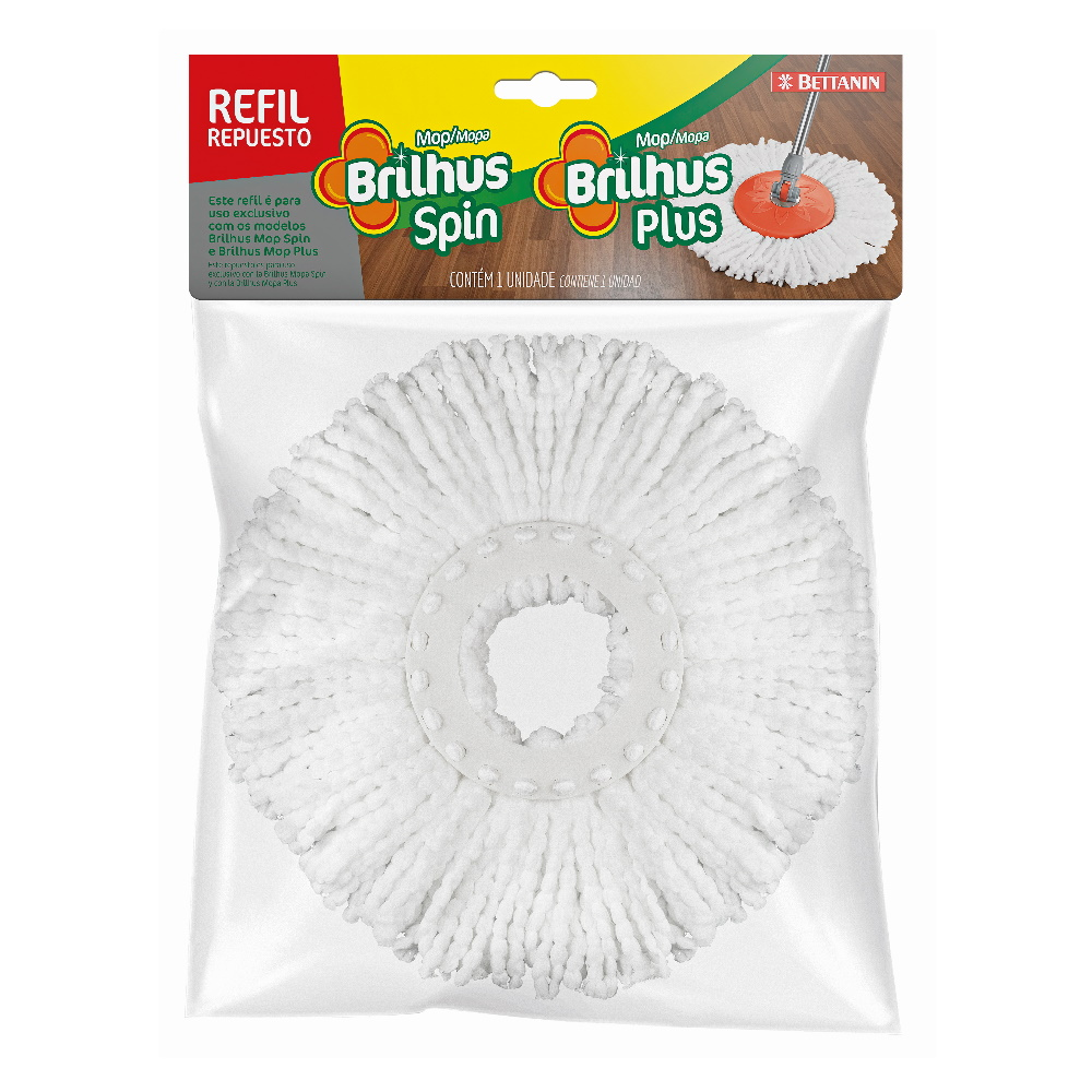 Refil Mop Brilhus Plus