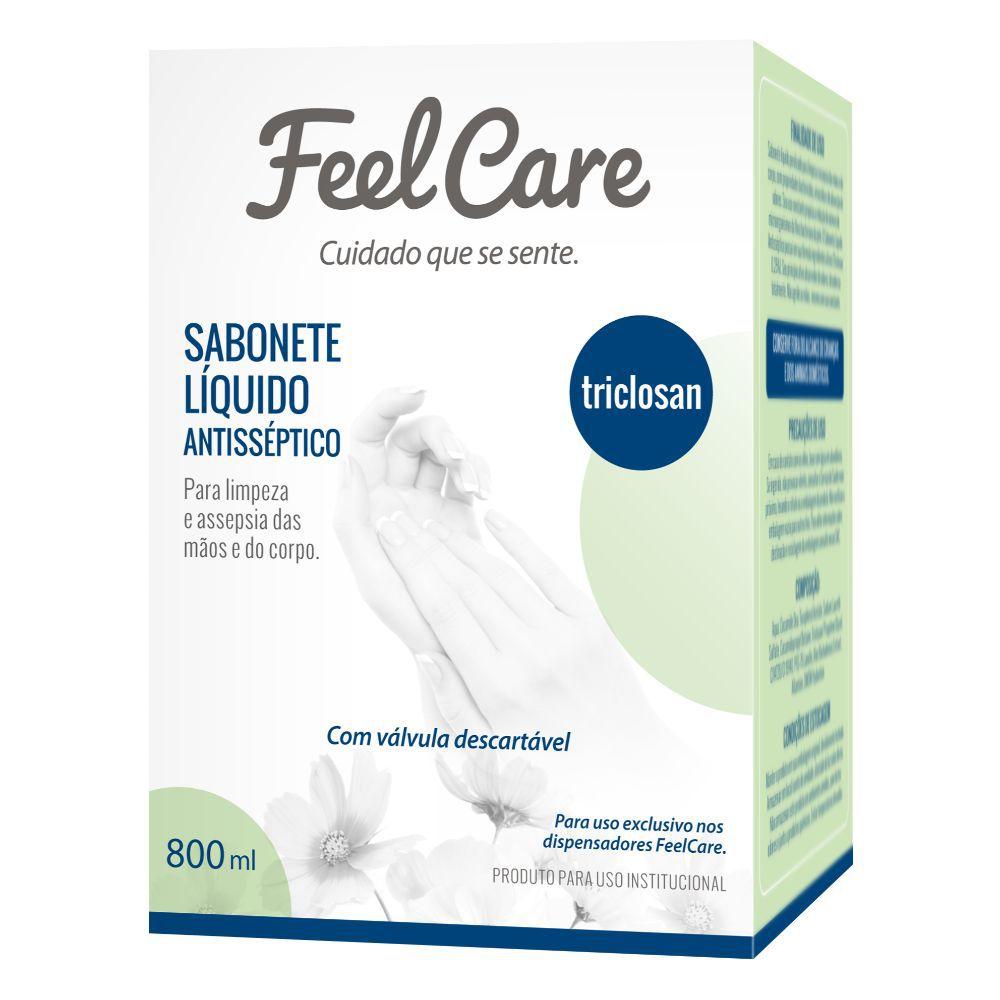 Sabonete Liquido Feelcare Triclosan Fst06 800Ml