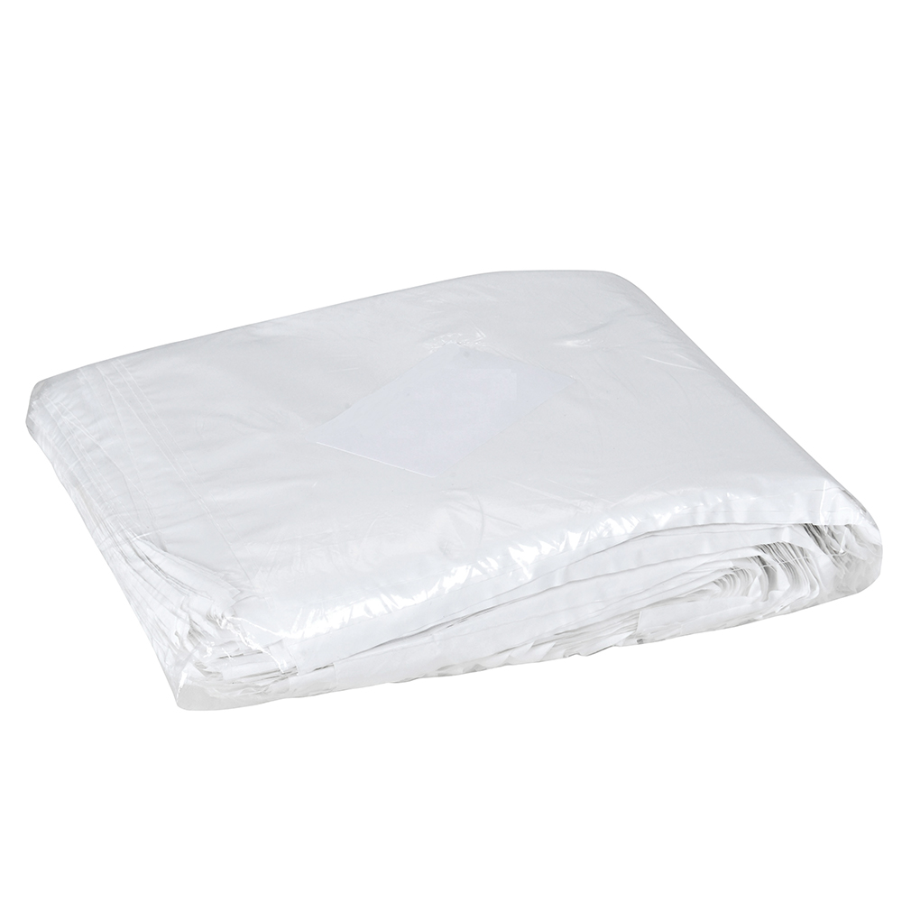 Saco Plastico Leitoso Lanche C/1kg 22x17x0,009