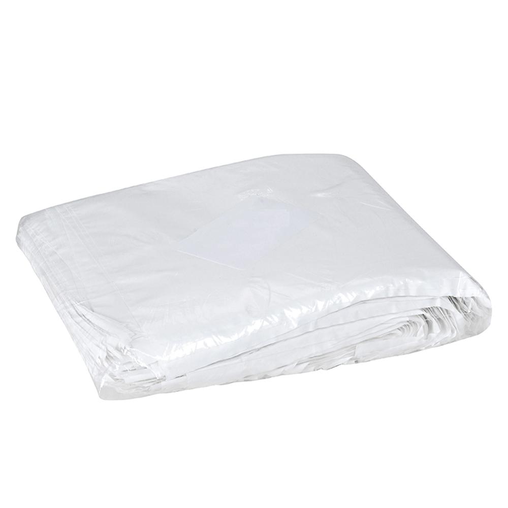 Saco Plastico Leitoso Lanche C/1kg 25x22x0,009