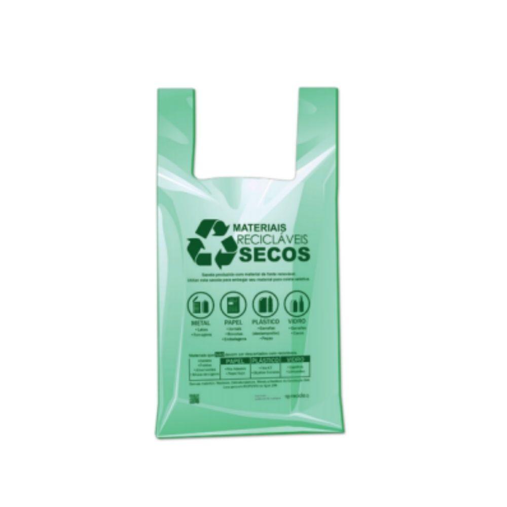 Sacola Lei Sp 48x55 Verde C/500