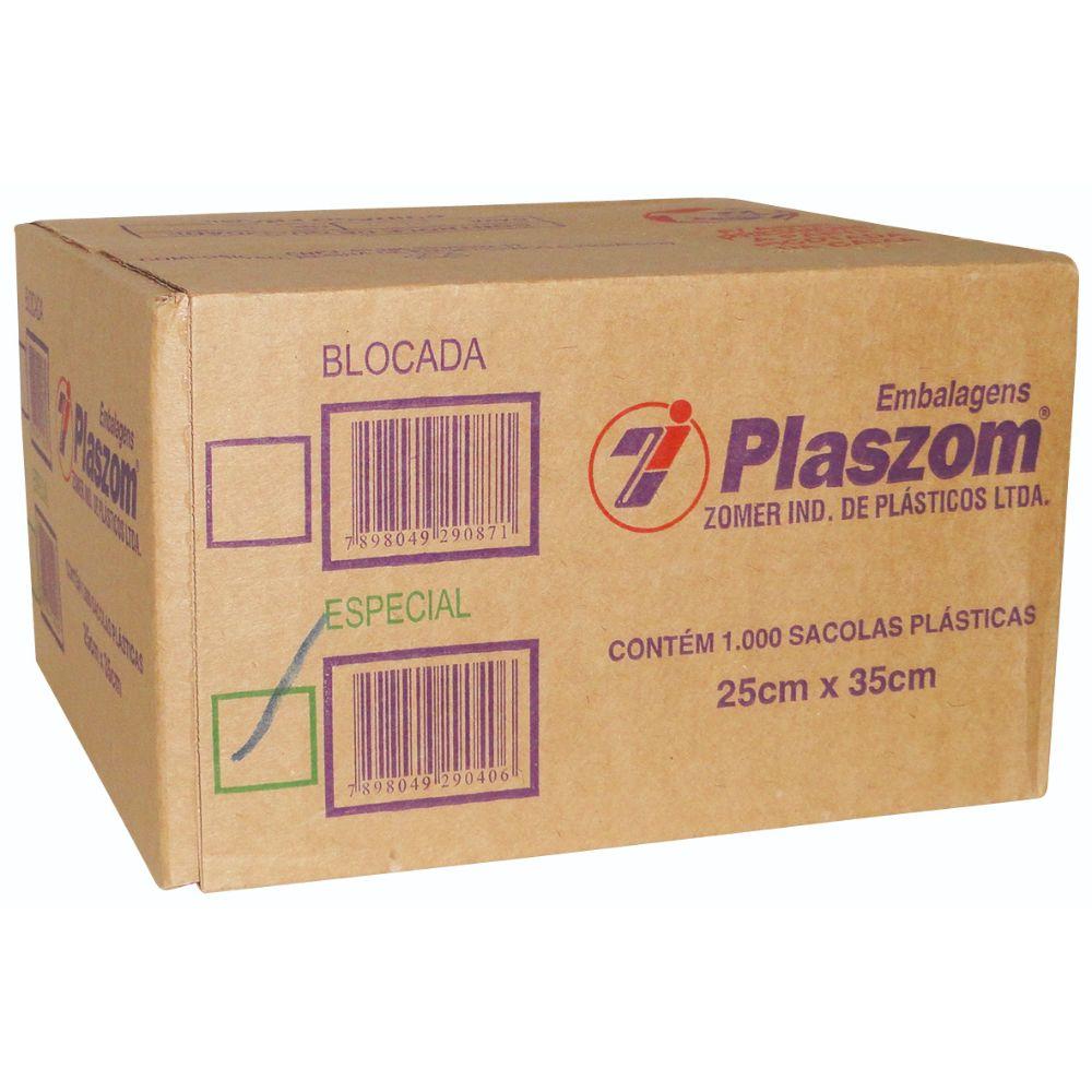 Sacola Plaszom 25x35 Especial
