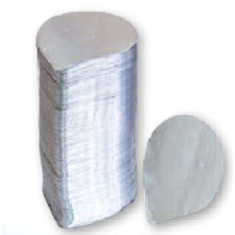 Selo Aluminio 120Mm Pote 500Ml Com 1000