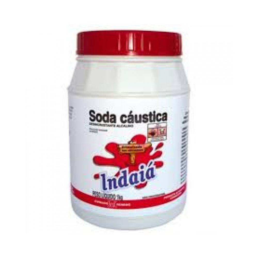 Soda Caustica Indaia 1kg