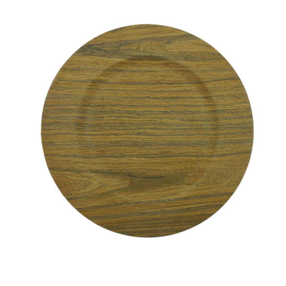 Sousplat Light Wood Mimo Style