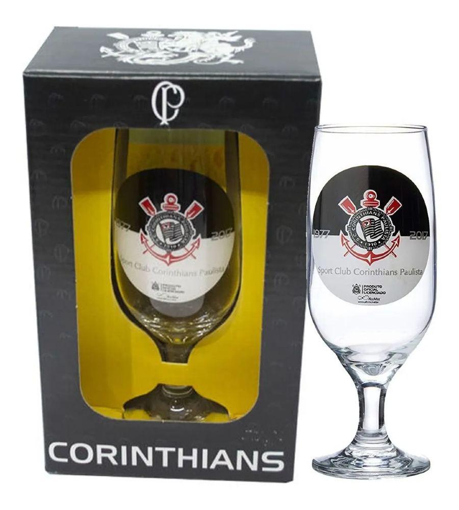 Taca Cerveja 300ml Emb Luva Corinthians