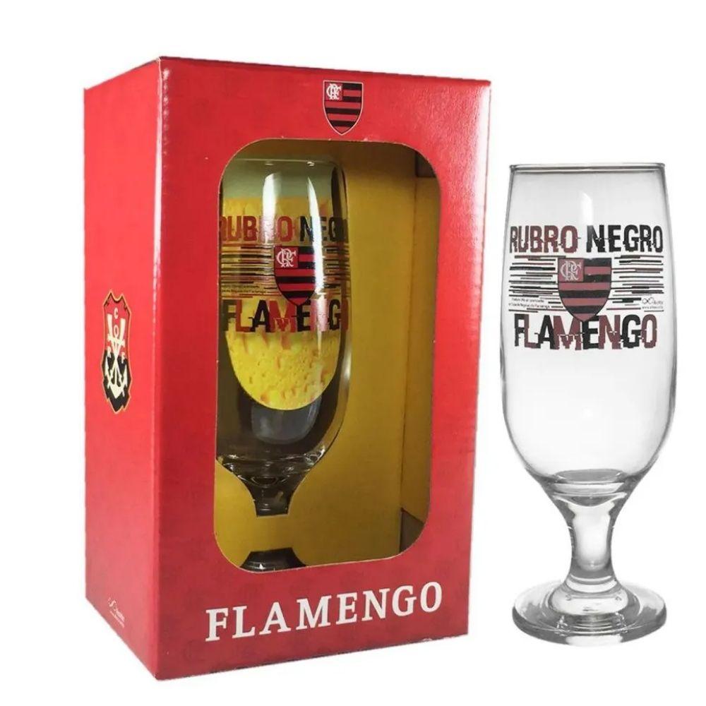 Taca Cerveja 300ml Emb Luva Flamengo