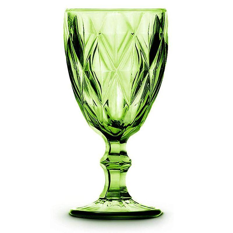 Taça De Água Amber Verre Verde Mimo Style