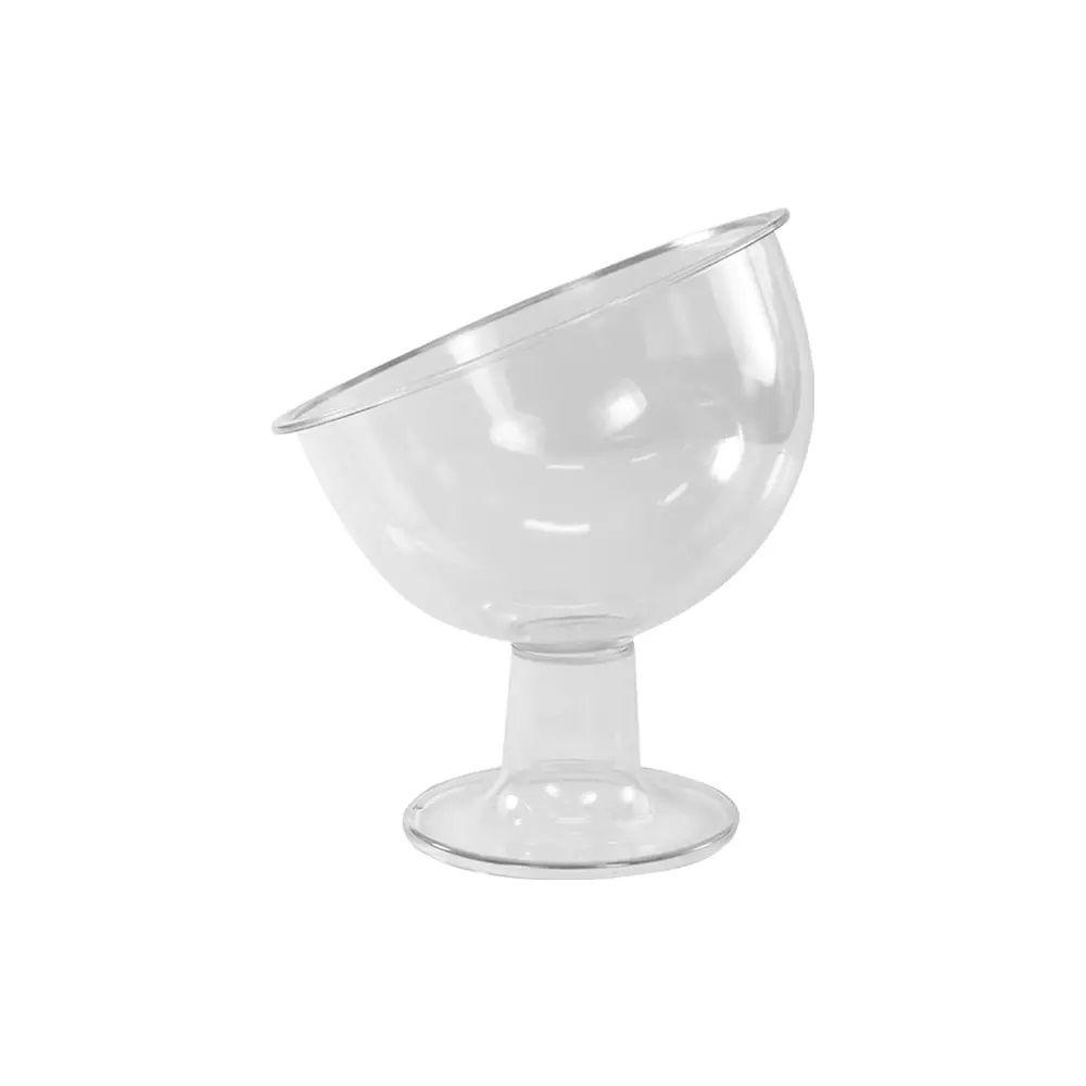 Taça Inclinada Pequena Cristal Festcolor