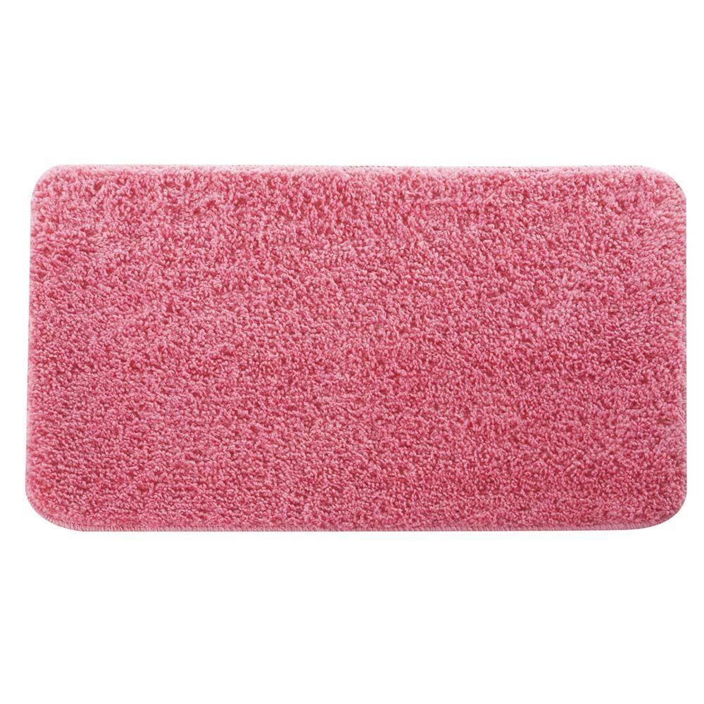 Tapete De Banheiro Basic Rosa Mimo Style