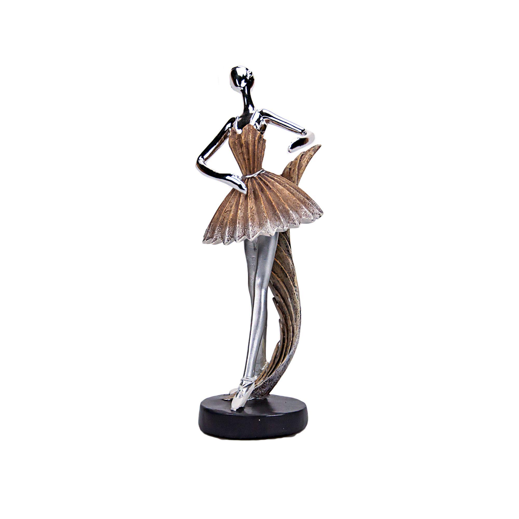 Adorno Bailarina 9,5 x 09 x 25 cm