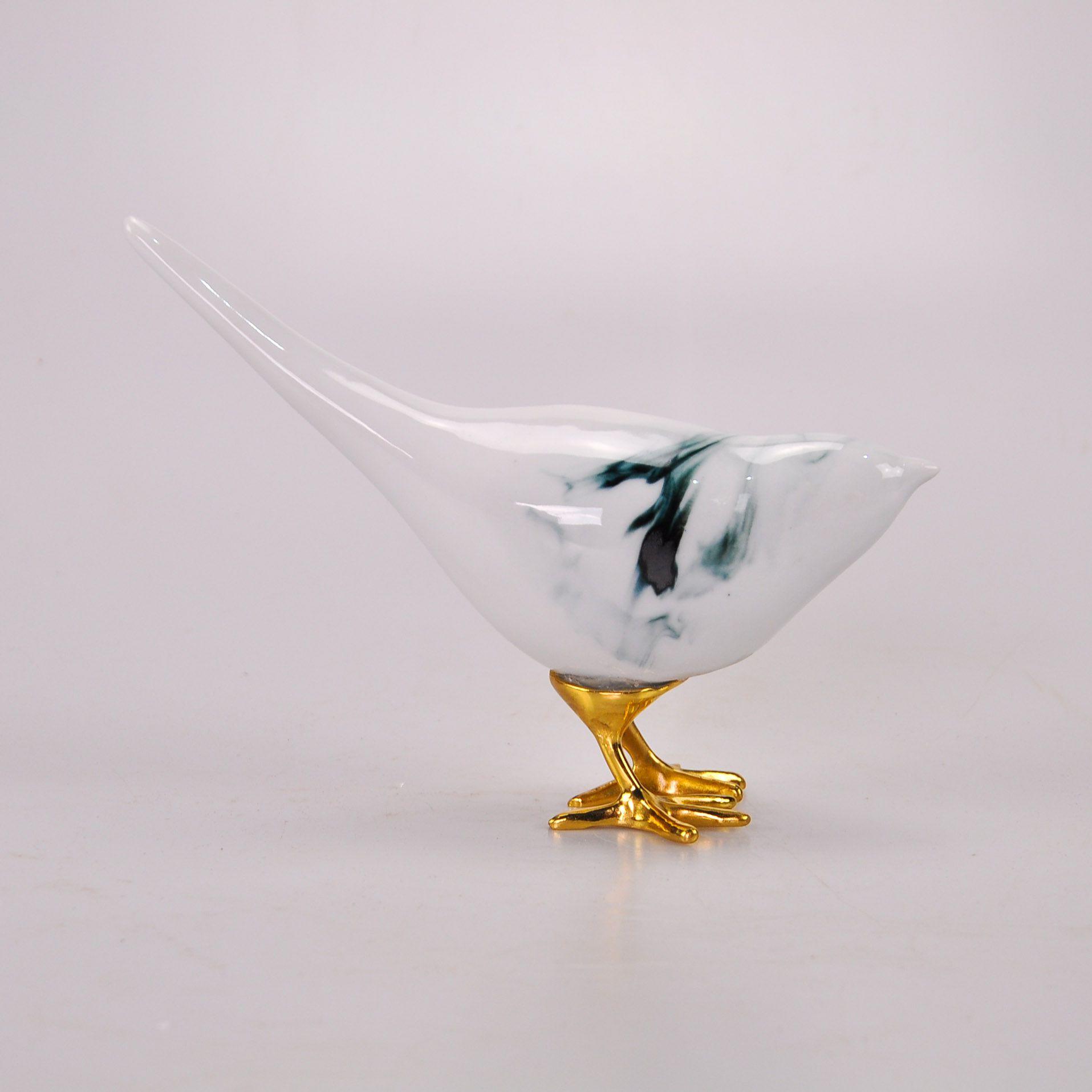 Adorno Pássaro 21 x 21 cm 60855