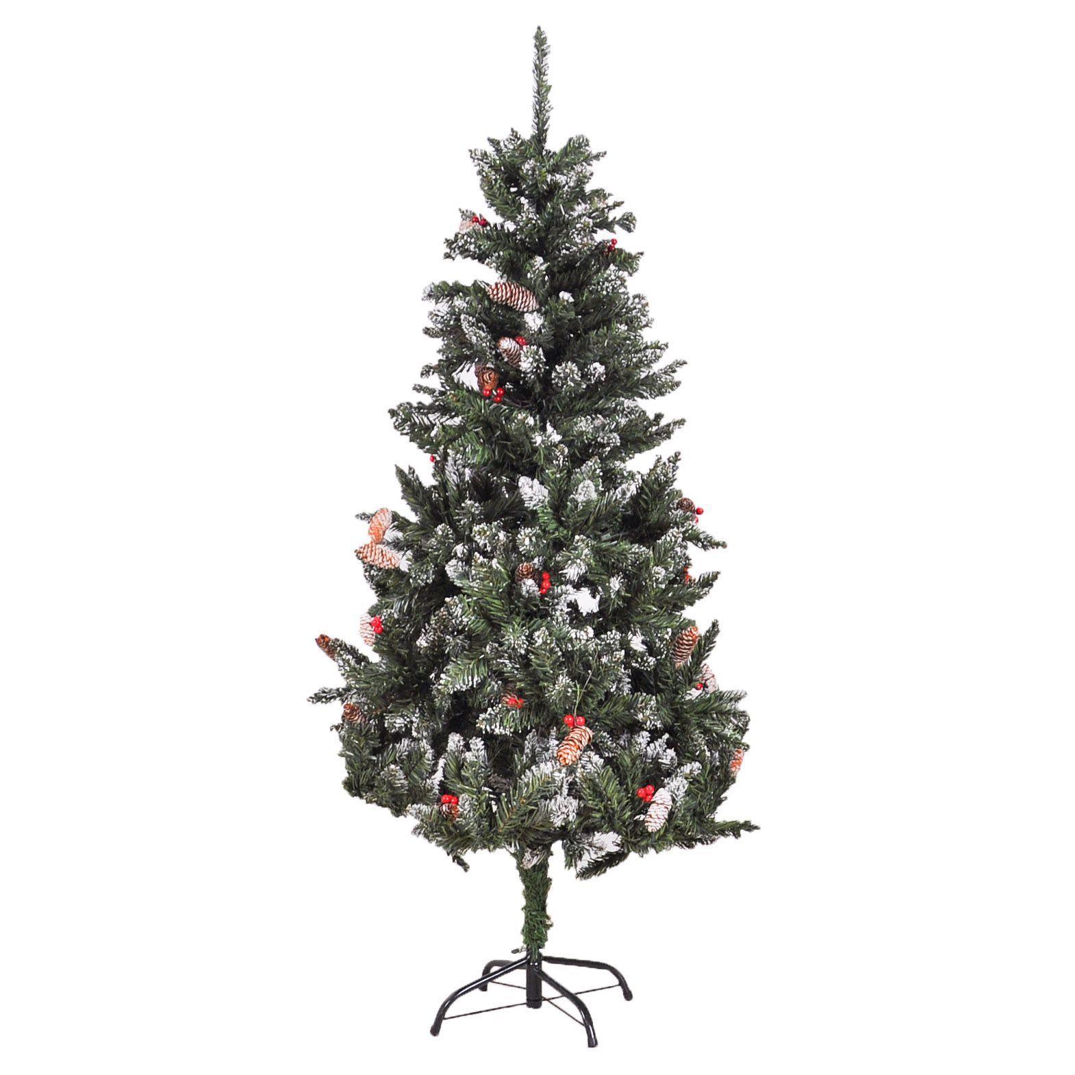 Árvore Natal Neve 150 cm
