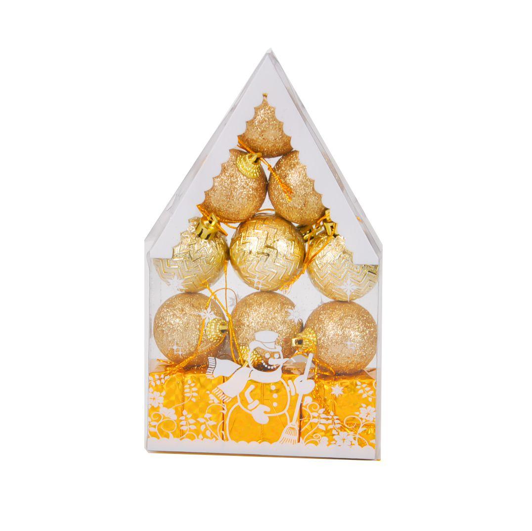 Enfeite Decorativo Natal 3,5 cm Plástico (12 unid.)