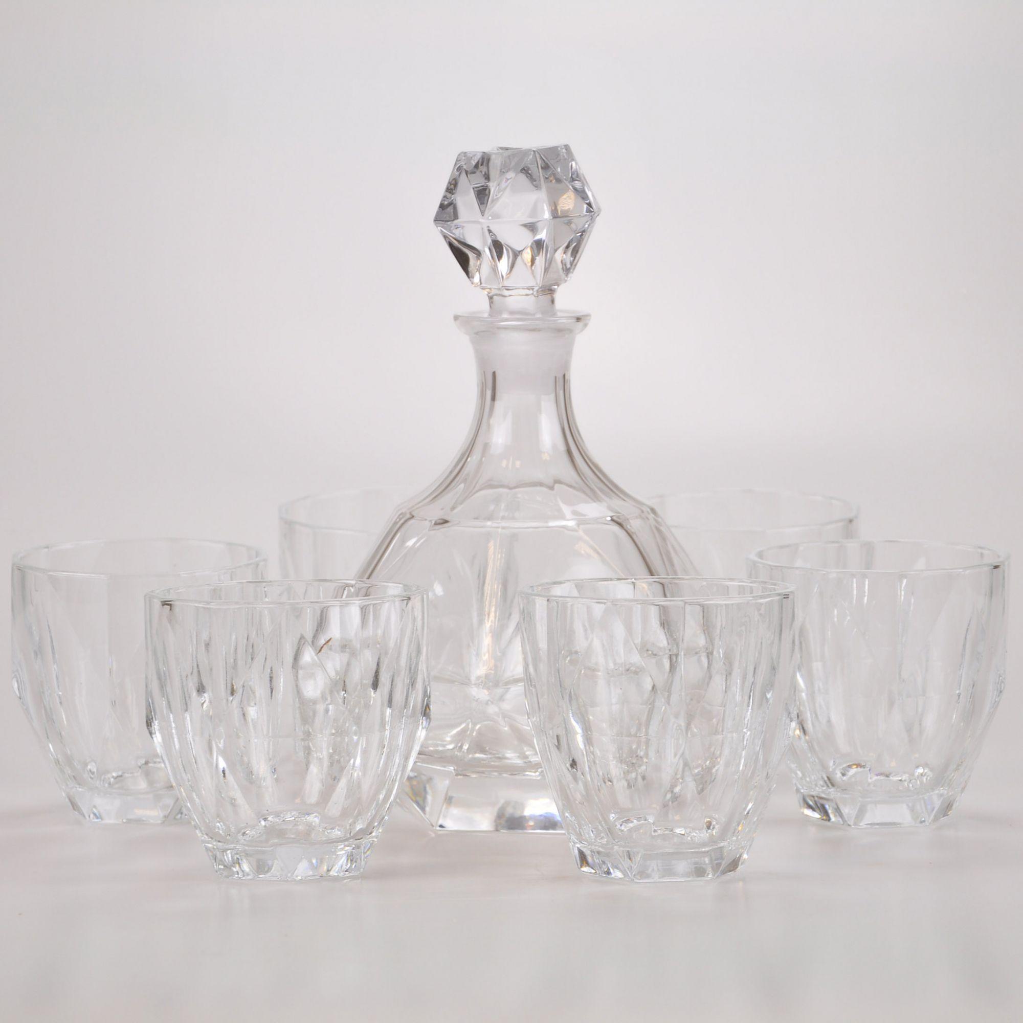 Conjunto Garrafa com copos Whisky (07 peças) 61818