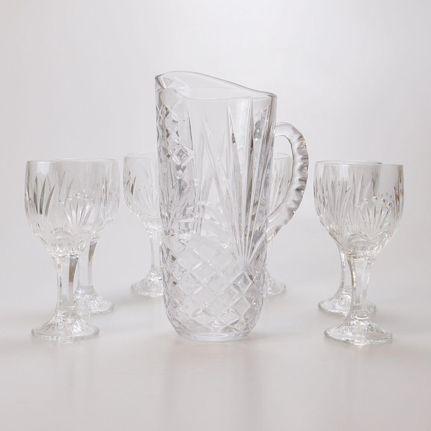 Conjunto Jarra com copos (07 peças) 61815