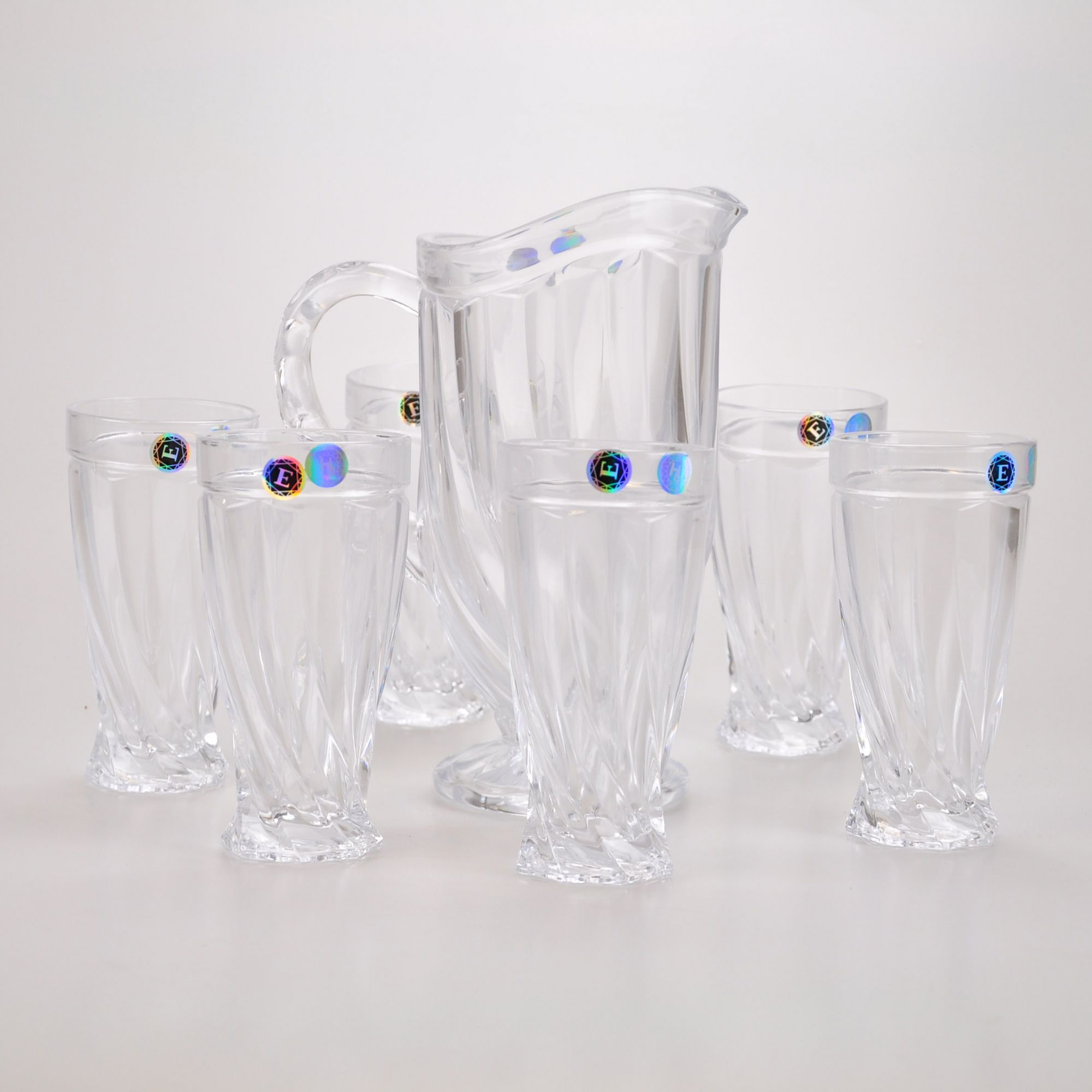 Conjunto Jarra com copos (07 peças) 61816