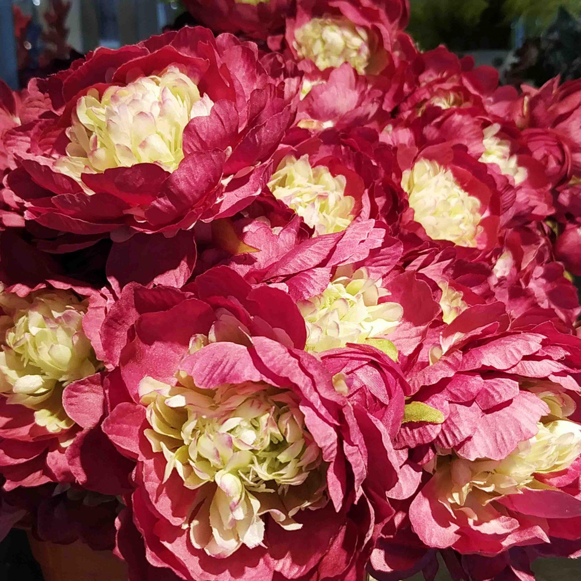 Haste Peônia (roxo outono) 52 cm- unidade