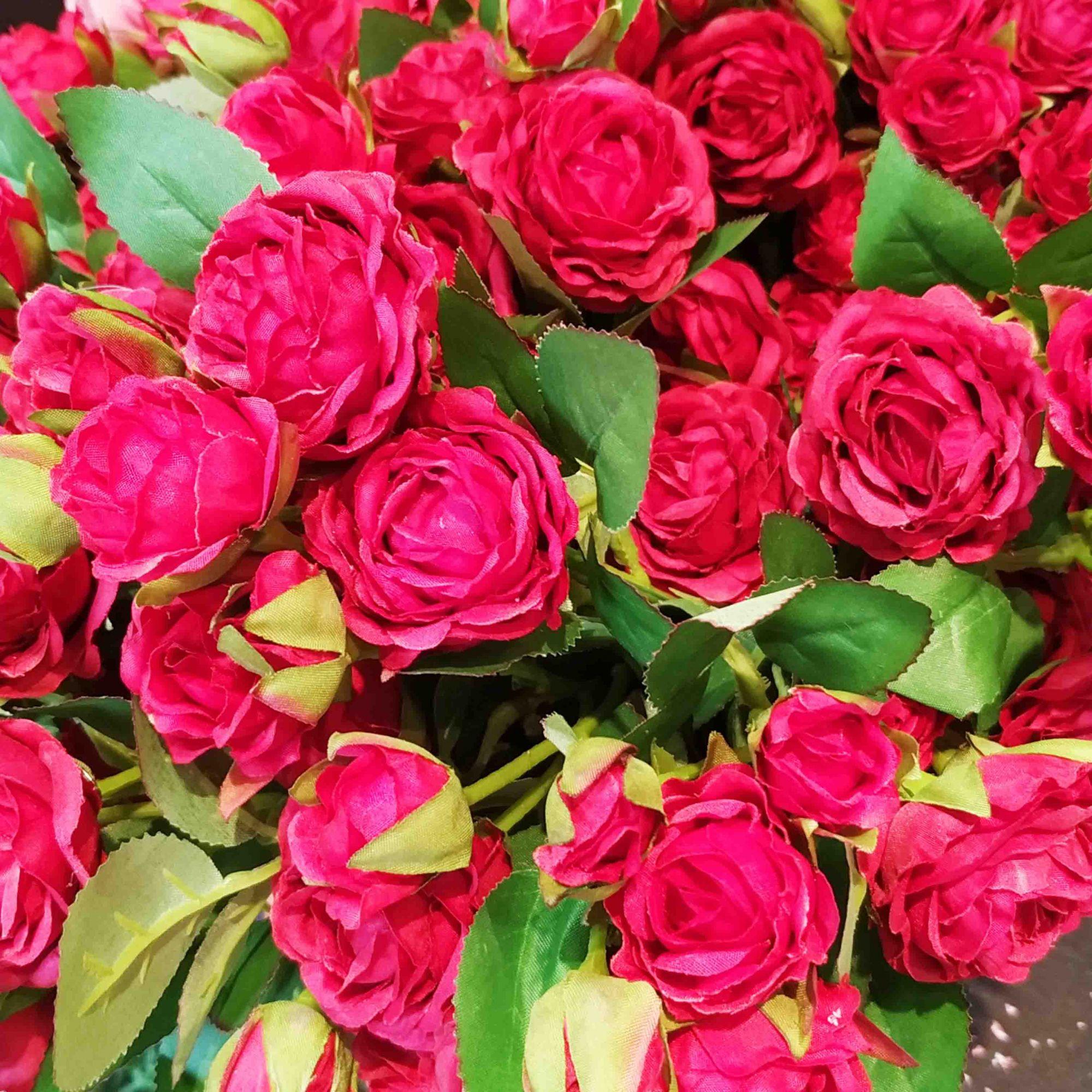 Haste Rosa 42 cm (dispon. em 02 cores)- unidade