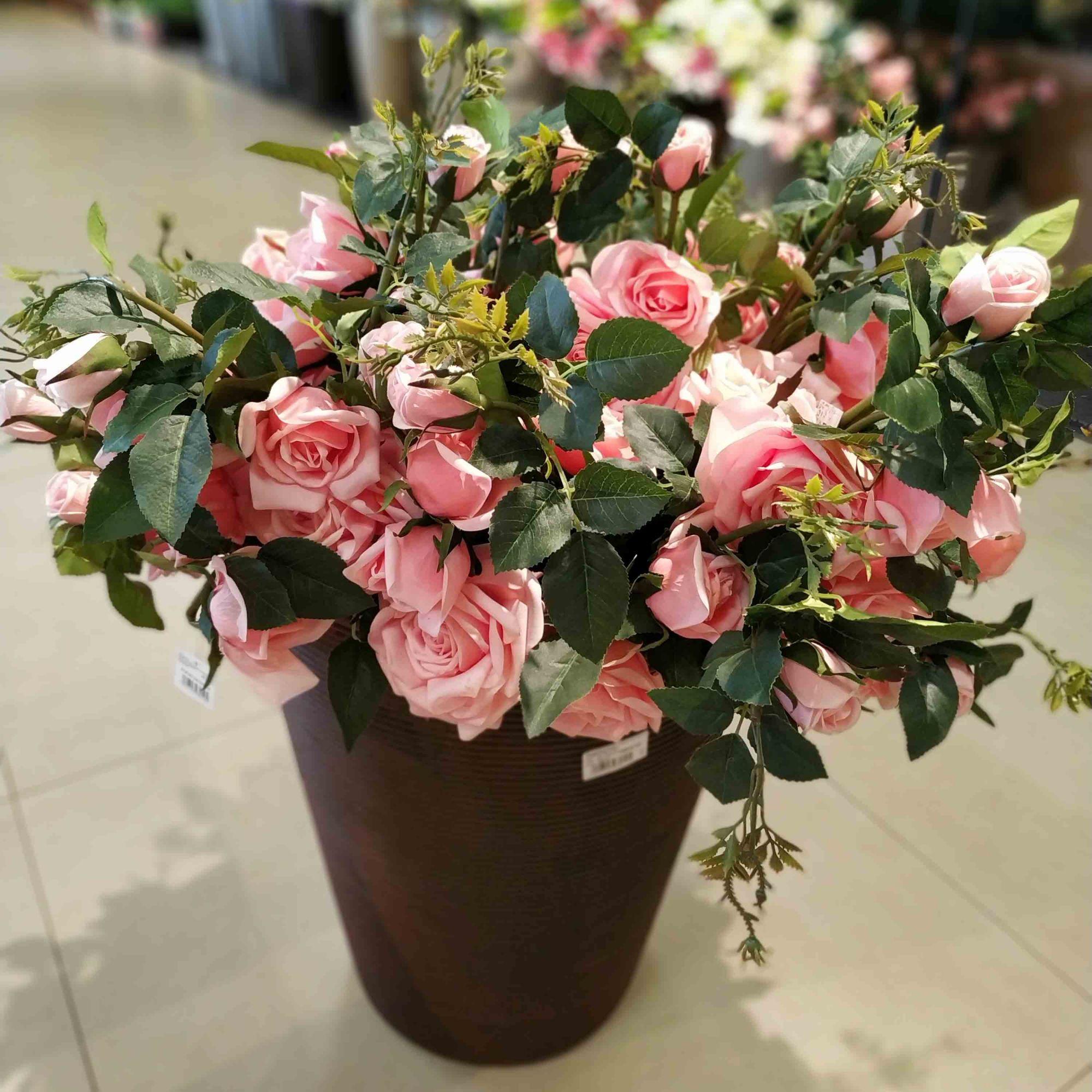 Haste Rosa 95 cm- Unidade