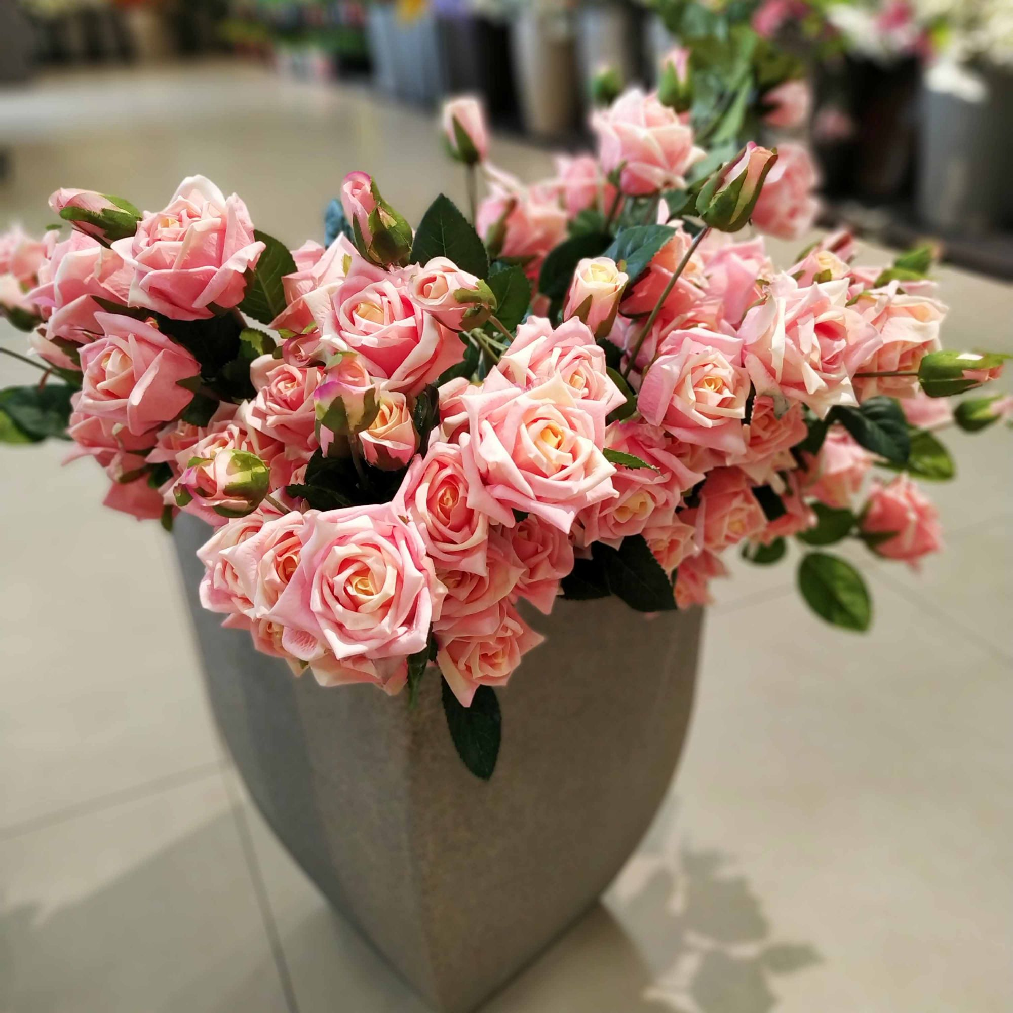 Haste Rosa (rosa claro) 76 cm- Unidade