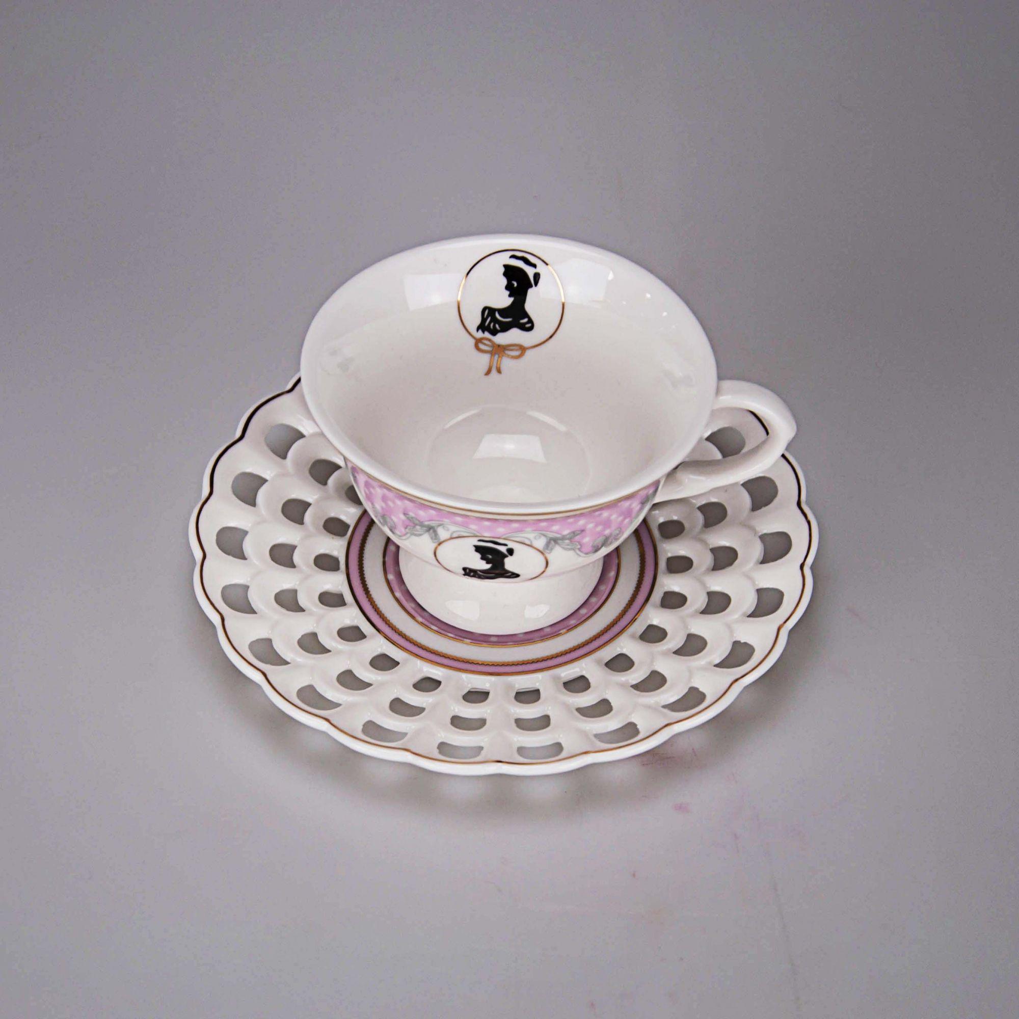 Jogo Chá 08 x 5,5 cm (12 peças)- Dispon. em 02 cores