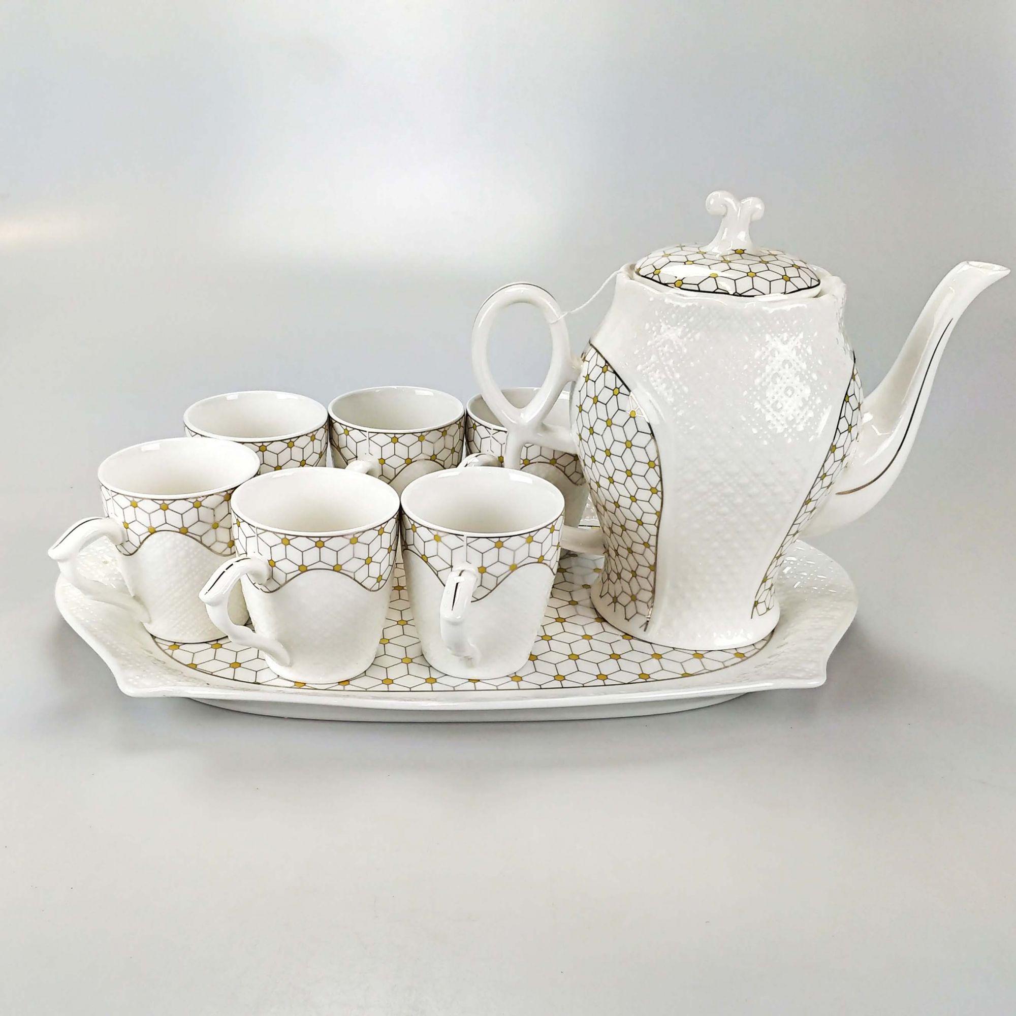 Jogo de Chá 08 Peças 1539
